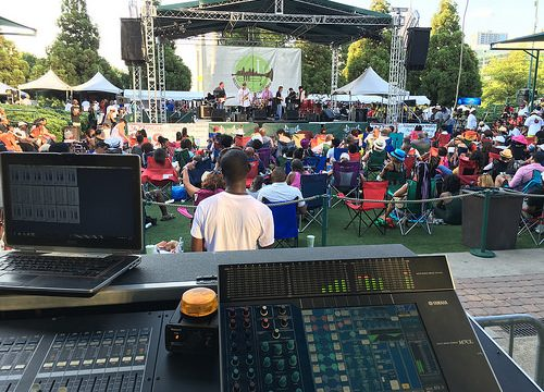 FOH in Centennial Olympic Park