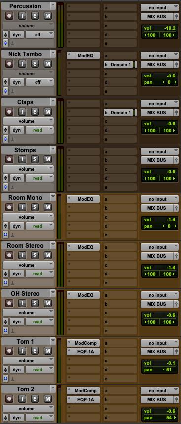 01 perc drums